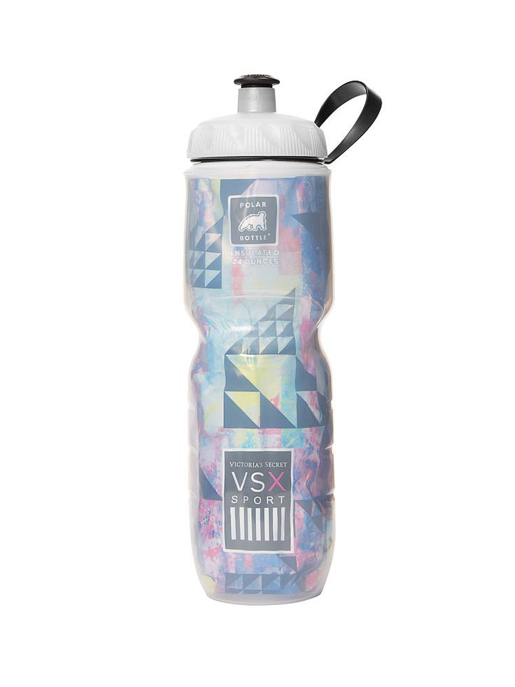 Get a thirst for style with the Polar Water Bottle from Victoria's Secret. Keep cool with this insulated water bottle that stays cold through long workouts at the gym or the great outdoors. Get a runway body in performance workout gear from VSX Sport.