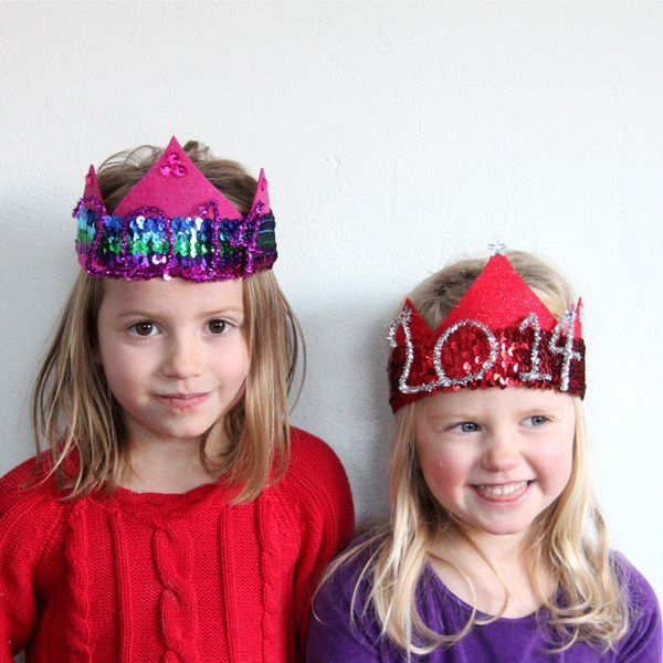 Wear and Celebrate!, The Cutest New Year's Eve Party Hats for Kids, but I say forget the kids I LOVE THESE!!