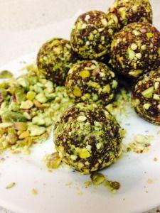 Sunflower Pistachio Protein Balls