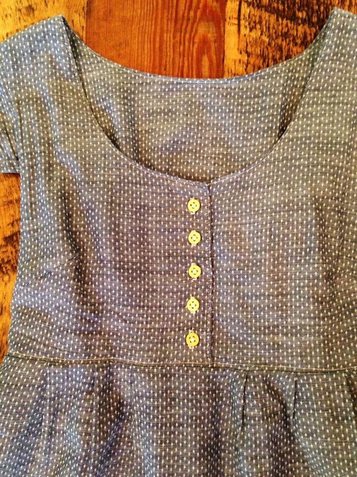 washi button front tutorial-- can use the concept for a button placket bodice.