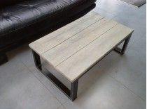 17 best ideas about table basse style industriel on for Table basse loft industriel