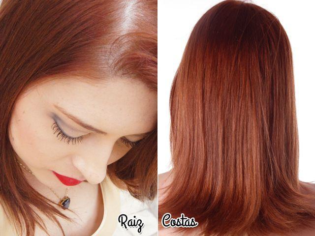 """#chatiada com a coloração desse mês :( Lembram que sempre comento que meu cabelo estava desbotando pro loiro? Então a gênia pensou: """"Meu cabelo precisa de um tico de vermelho."""" Foi com …"""