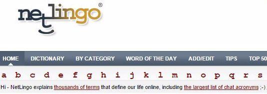 NetLingo The Internet Dictionary #dictionary #education #language