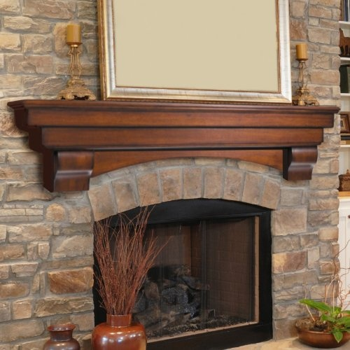 Rustic Fireplace Mantels   The Focal Point Of The RoomRustic Cabin Living