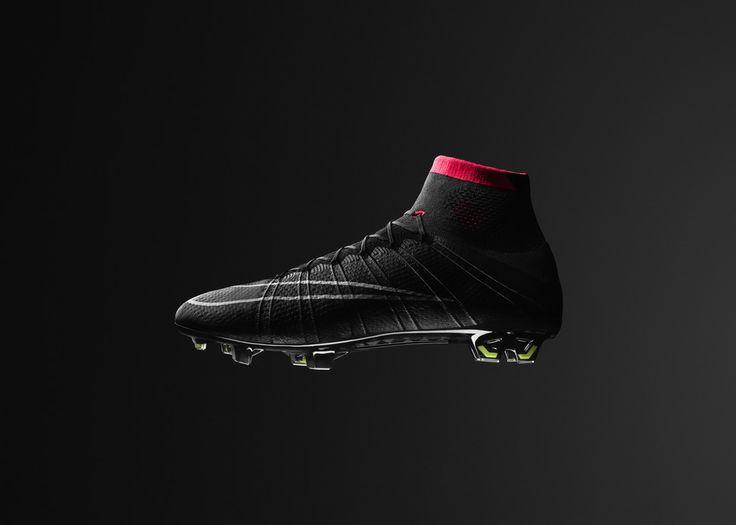 Nike flyknit mercurial superfly iv soccer cleats black