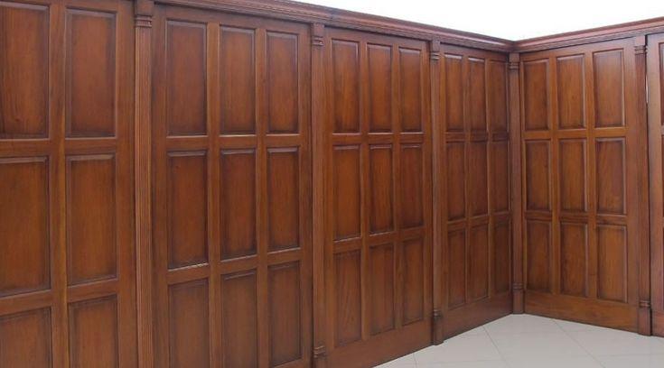 Mahogany Wood Wall Paneling : Mahogany wall paneling piano bar room pinterest