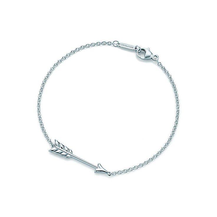 Tiffany Hearts® arrow bracelet in sterling silver, medium.   Tiffany & Co.