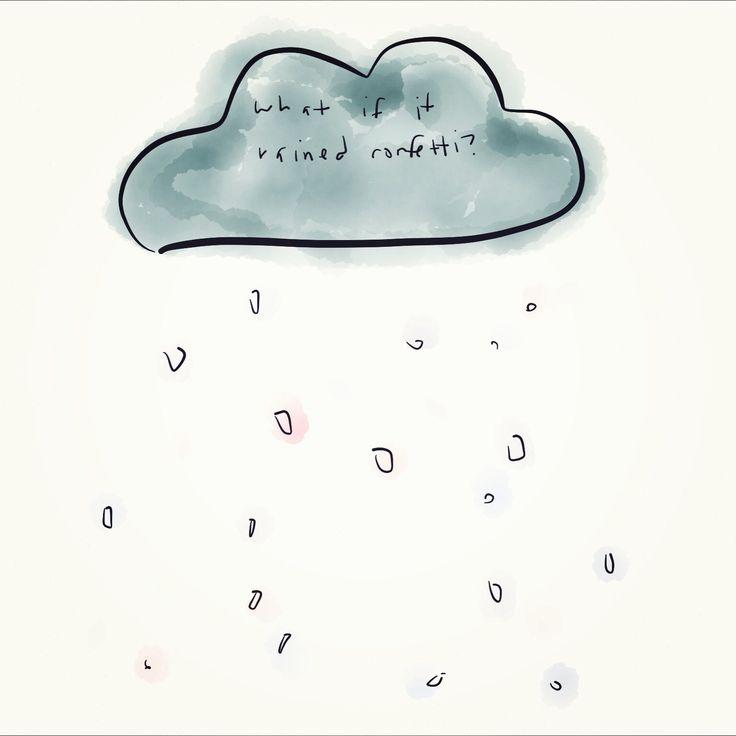 Raining Confetti // by Whitney Davis