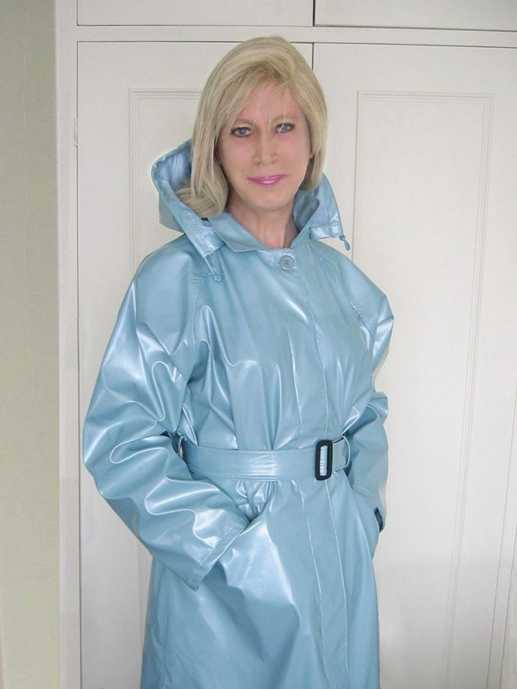 Rainwear mature in