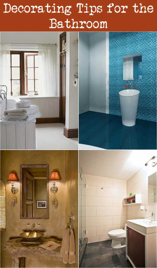 Decorating Tips For The Bathroom Decorating Bathrooms Bathroom