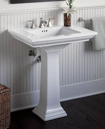 memoirs pedestal sink sold at homedepot