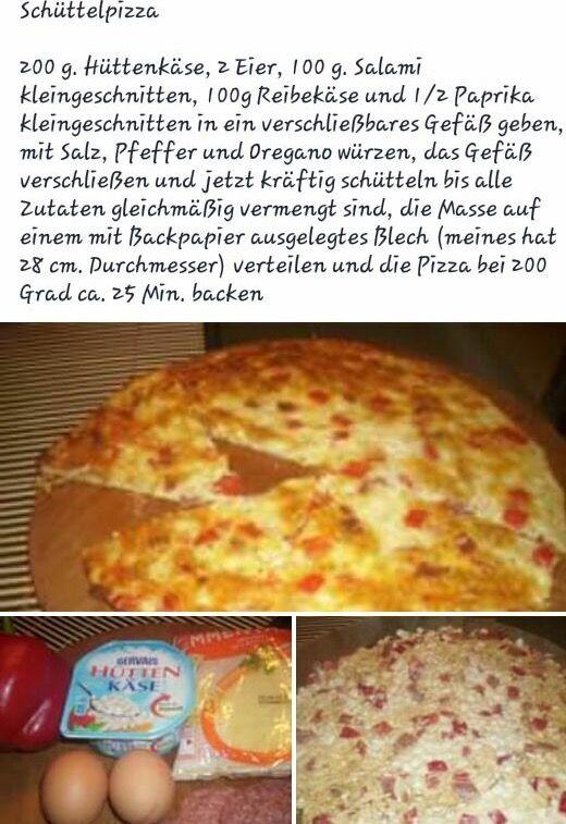 Schüttel PIZZA sehr sehr lecker <3