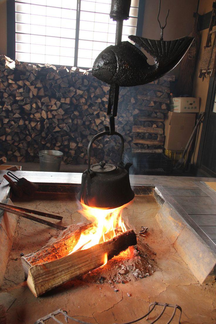 Irori fireplace 圍爐壁爐