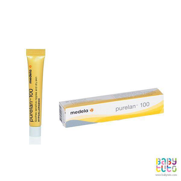 Crema Purelan 100. 7 g, $7.100 (precio referencial). Marca Medela: http://bbt.to/1KCSxQm
