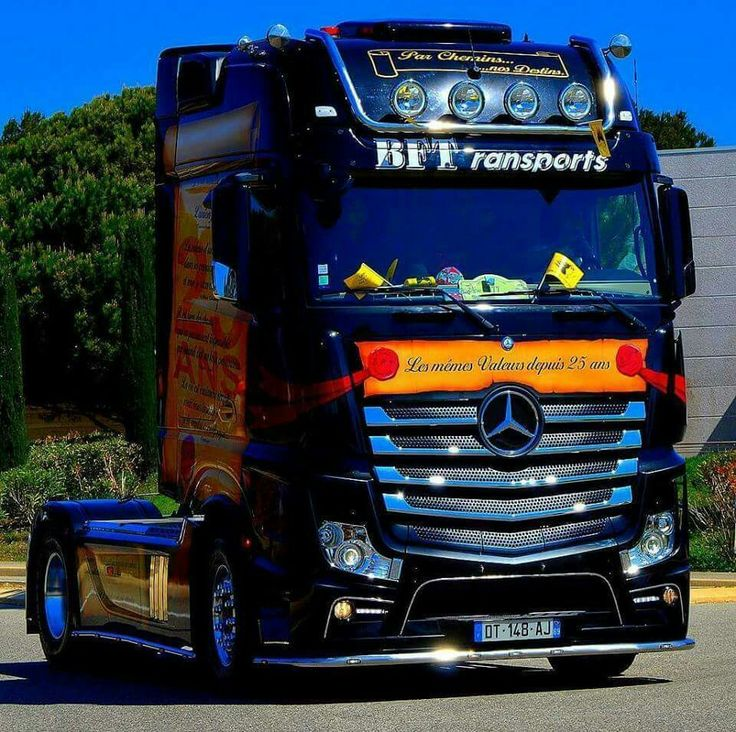 1000 images about cabover pictures on pinterest for Garage mercedes meaux