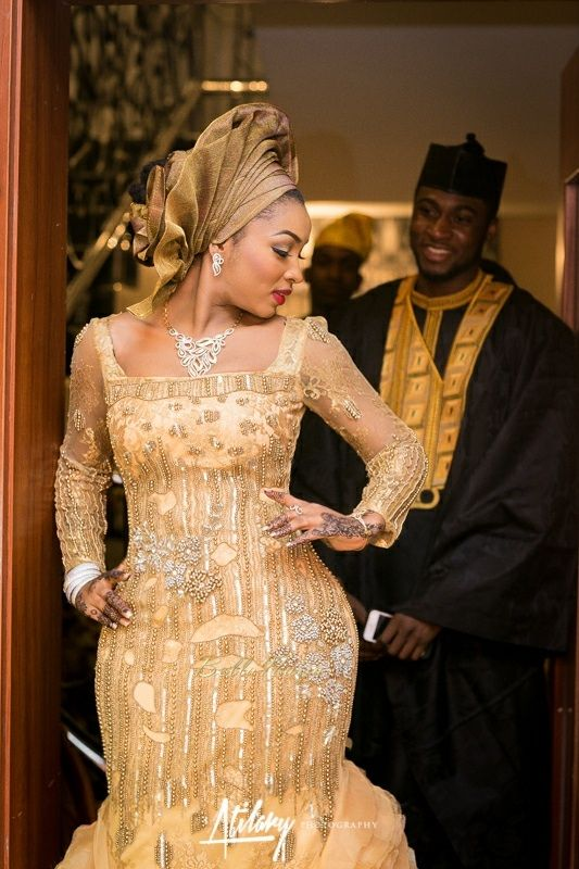 Safiya meema umar yuguda wedding hausa nigerian for Nigerian traditional wedding dresses pictures