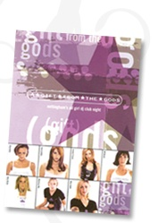 A Gift From The Gods was created in 1997 as the UK's first all girl DJ club tour to showcase the talents of dynamic, beautiful, and inspirational young female DJs on the dance music scene.