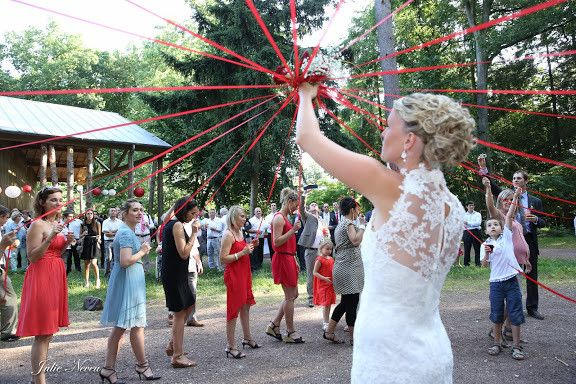 Idée originale pour bouquet de mariée