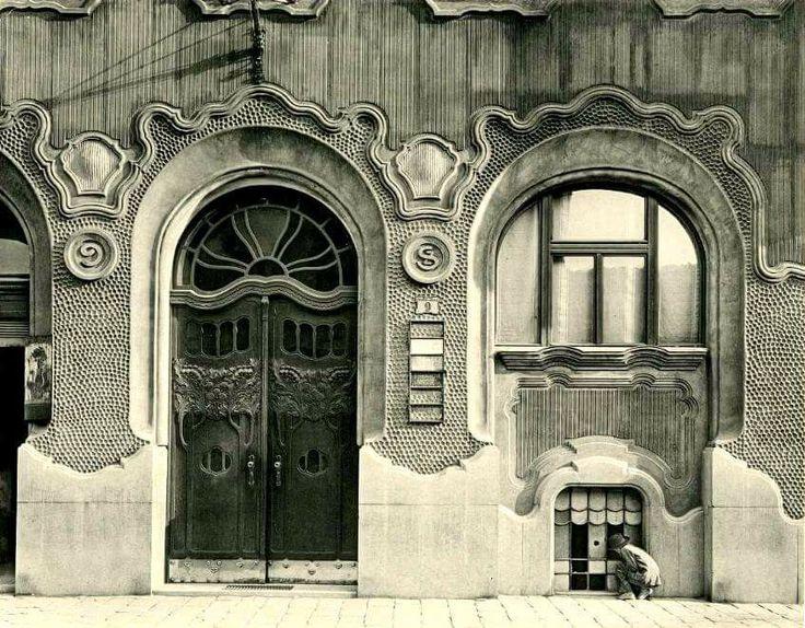 Budapest. 8. kerület. Práter utca 9. Gonda-ház.1900-as évek.