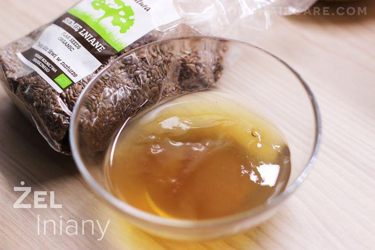 Żel lniany, czyli maseczka do włosów z siemienia lnianego - Pielęgnacja Włosów Blog