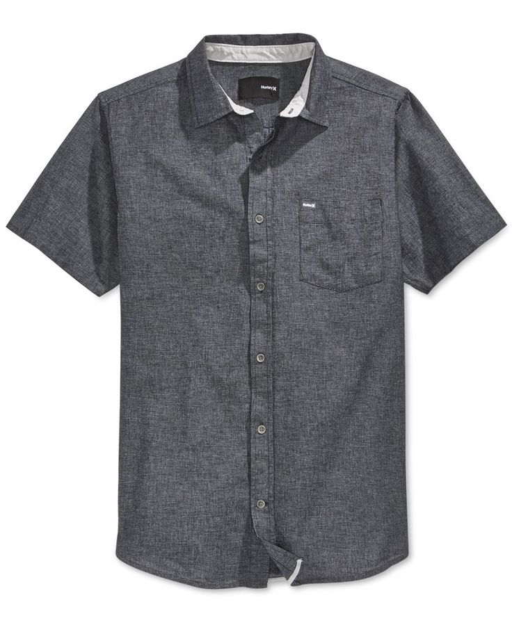 A classic button-down look updated with modern design, this Stanton short-sleeve…
