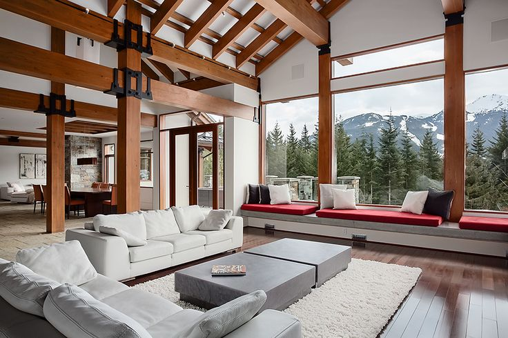 Whistler's most exclusive chalet / courtesy of luxury horizons.com  Our guests get priority booking of this chalet for the holidays - availability is limited.