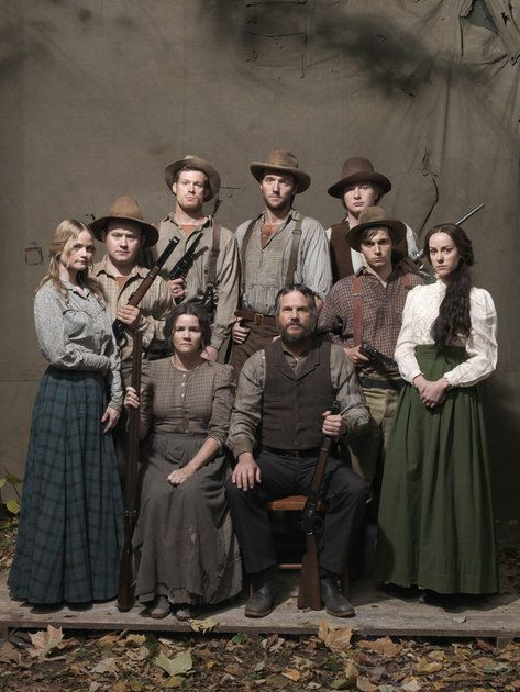 Hatfields & McCoys - I'm full-blooded related. Love it.