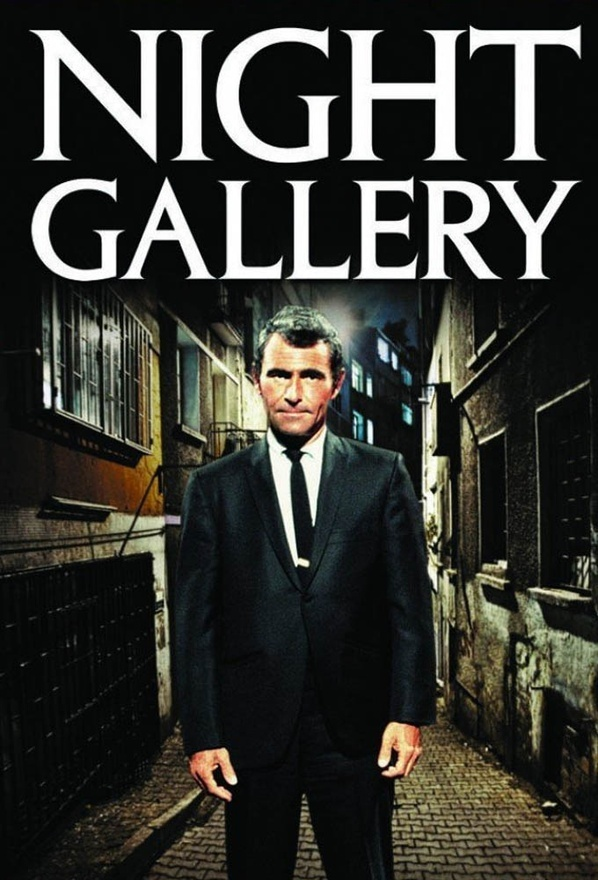 The Night Gallery with host Rod Sterling. Scary stuff back then. Just hearing Rod Sterling's voice beginning this show and The Twilight Zone would give me the heebie jeebies.