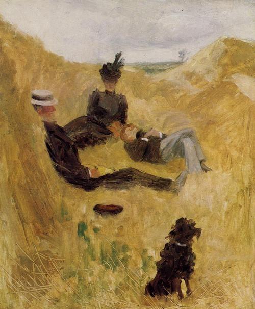 Henri de Toulouse-Lautrec - Party in the Country, 1882