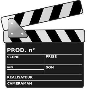 Le clap de cinéma