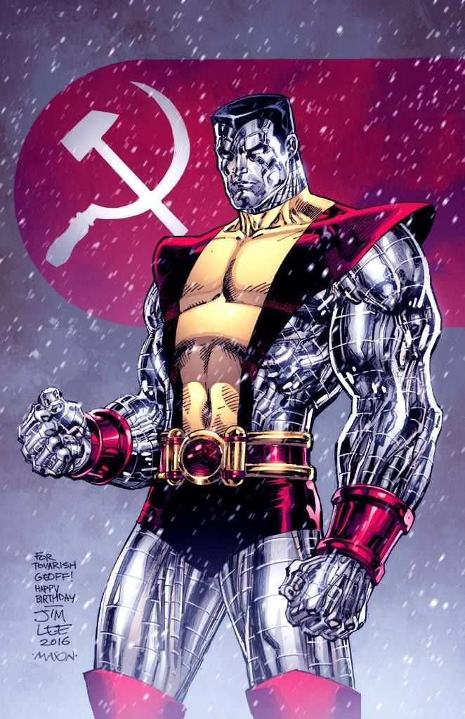 Colossus - Jim Lee, Colors: Thomas Mason