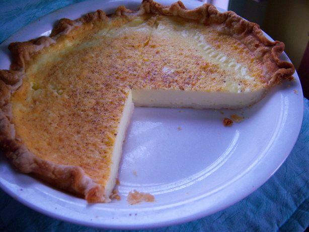 Duncan's Egg Custard Pie