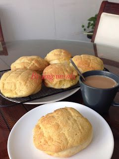 Resep ieng: pineapple Bread