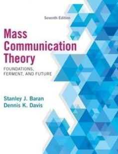 Mass Communication Theory: Foundations Ferment and Future free download by Stanley J. Baran Dennis K. Davis ISBN: 9781285052076 with BooksBob. Fast and free eBooks download.  The post Mass Communication Theory: Foundations Ferment and Future Free Download appeared first on Booksbob.com.