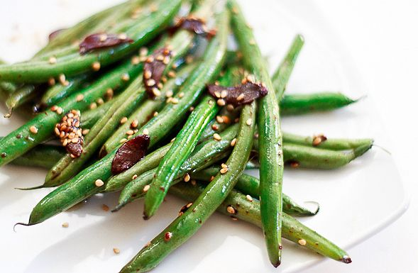 String_Beans #sesame #Garlic #wishfulchef: Garlic Green Beans, Sesame ...