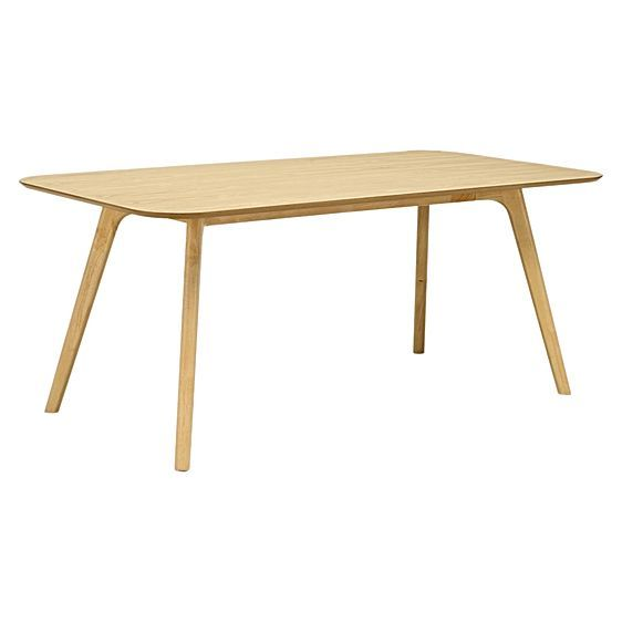 Ricko Natural Rectangle Dining Table by Iniko