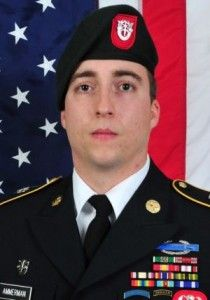 Staff Sgt. Matthew R. Ammerman, 29, of Noblesville, Indiana, died December 3, 2014, in Zabul Provivince, Afghanistan, of wounds suffered from small arms fire while conducting a clearing operation. He was assigned to 3rd Battalion, 7th Special Forces Group, Eglin Air Force Base, Florida.