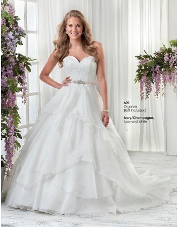 Jednoduchý organza plesové šaty svatební šaty