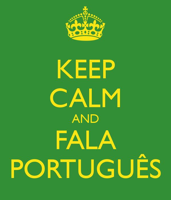 DONE: Learned to speak basic Portuguese and even made a short presentation in it!