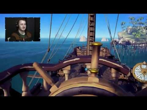 Sea of Thieves Alpha Gameplay - EPIC SEA BATTLE