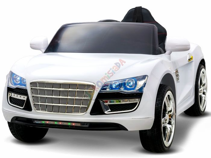 elektrické autíčko štýl Audi S8 Spider biele | Bábätkovo.eu