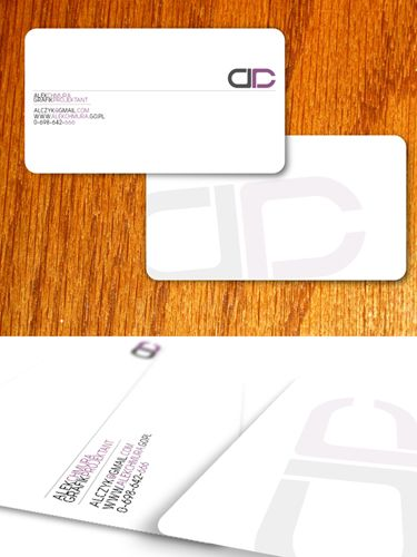 Personal Bussines Card by parafianin.deviantart.com on @deviantART