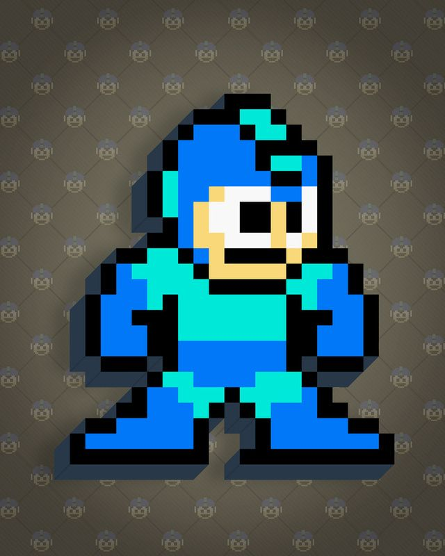 8-Bit Nintendo Characters Created By 8-Bit Vic