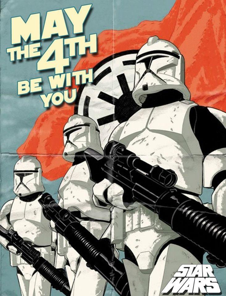 Happy Star Wars Day! 0512b6ffc42a9f6056a299577c004bf4