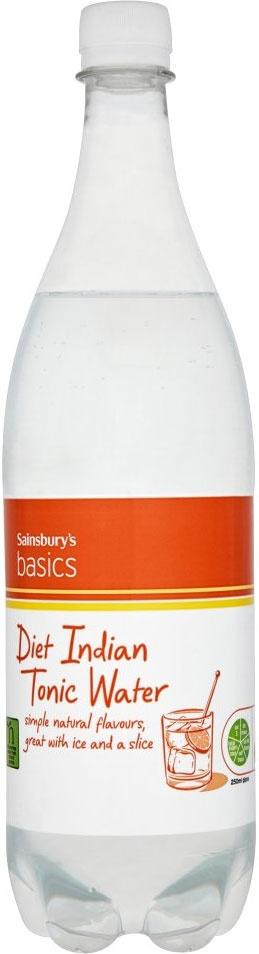 Sainsbury's Basics Diet Indian Tonic Water (1L)