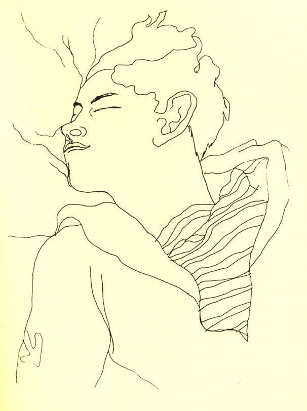 25 dessins d'un dormeur, Jean Desbordes 1929 Jean Cocteau