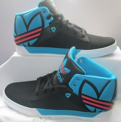 Adidas Attitude Vulc West BL Originals Q32529 Athletic Black Men Shoes Size 12 | eBay