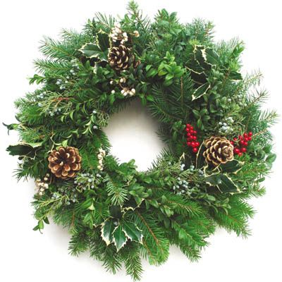 Best 25 Fresh christmas wreaths ideas on Pinterest #0: 0512d5f2ce4be30d ee f fresh christmas wreaths christmas greenery