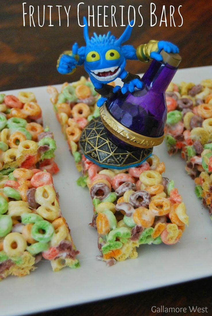 gallamore west: Breakfast Cereal Party & Fruity Cherrios Bars Recipe #UpYourBreakfastGame #CG