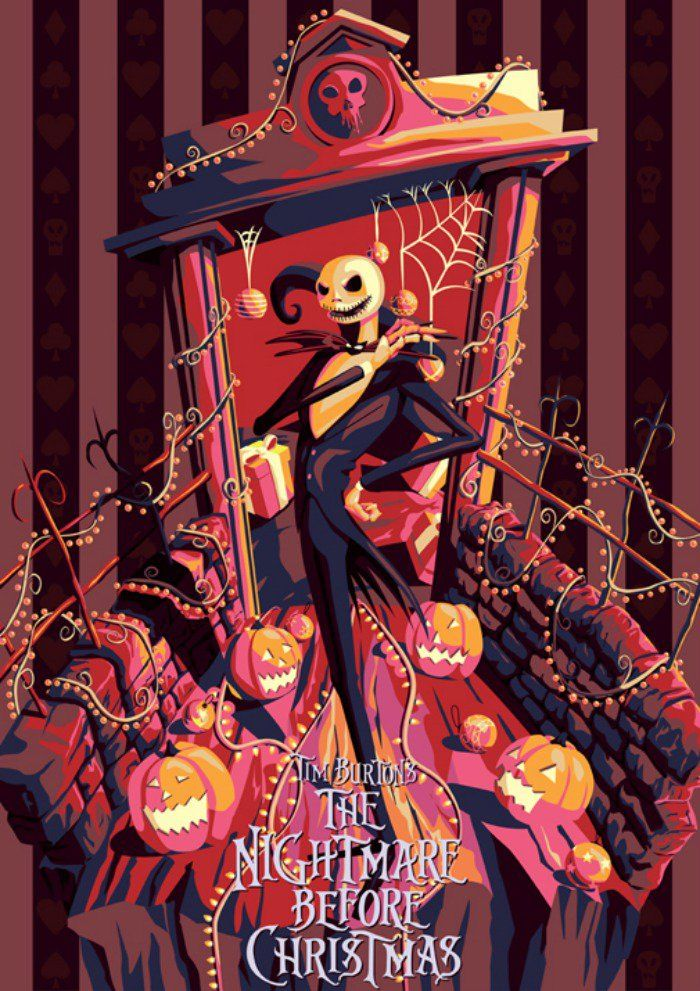 The Nightmare Before Christmas The Spookiest Fan Art